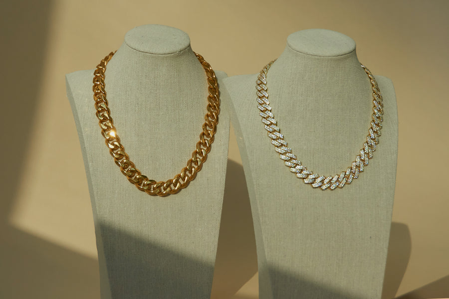 THE CHUNKY CUBAN LINK COLLECTION