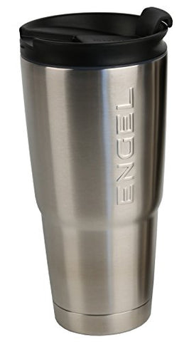 Engel Tumbler - Stainless Steel Vacuum Insulated with Lid - 30oz - Throttle City Cycles