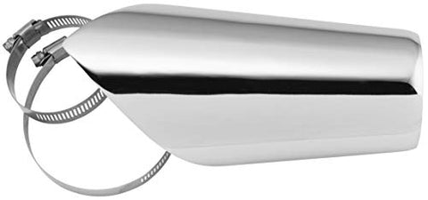 Freedom Performance AC00240 Heat Shield for Turnout and Combat Exhausts - Chrome
