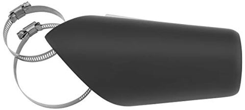 Freedom Performance AC00241 Heat Shield for Turnout and Combat Exhausts - Black