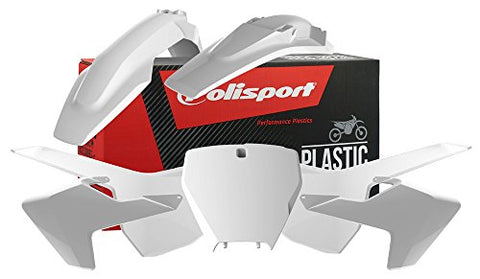 Polisport 90687 Plastic Kit - White