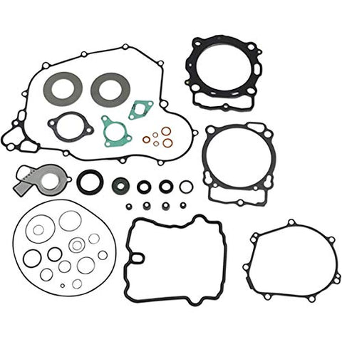 Athena Complete Gasket Kit with Oil Seals for 17-18 KTM 500EXCF
