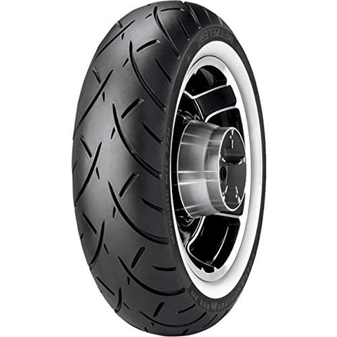 Metzeler ME888 Marathon Ultra Rear Tire - Wide Whitewall (MT90B-16) - Throttle City Cycles