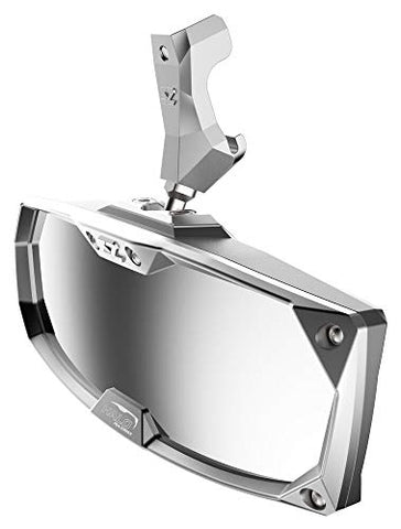 Seizmik Halo-RA CAST Rearview Mirror with Cast Aluminum Bezel for All Can-Am Defender Models 18028 - Throttle City Cycles