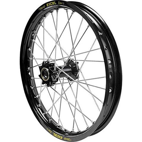 Excel Pro Series G2 Front Wheel Set - 21x1.60 - Black Hub/Black Rim , Color: Black, Position: Front, Rim Size: 21 - Throttle City Cycles
