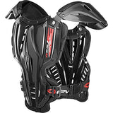 EVS Sports Unisex-Child Vex Roost Deflector (Clear/Black, Small (Youth))