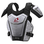 EVS Sports Unisex-Adult Revo 5 Roost Deflector (White, Small/Medium)