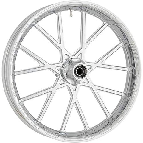 Arlen Ness 10102-204-6000 Procross Forged Aluminum Front Wheel - 21x3.5 - Chrome - Throttle City Cycles