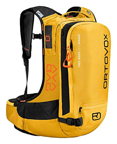 Ortovox Free Rider 22 Avabag Kit Backpack, Women, Yellowstone, 22 L