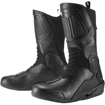 ICON 1000 Joker WP Boot Motorcycle Boots (Brown or Black) - Throttle City Cycles
