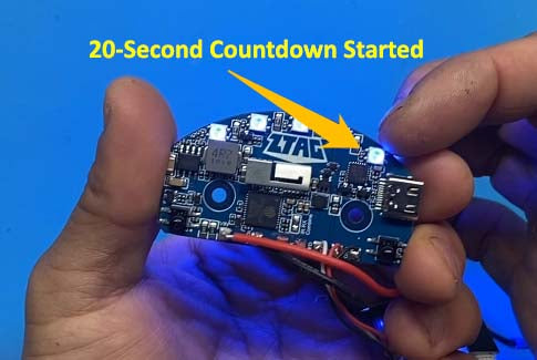 ztag countdown timer started