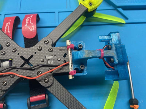 ztag installed to bottom of drone