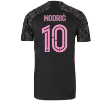 Load image into Gallery viewer, Real Madrid-official customizable third gear T-shirt 2020/2021-Black