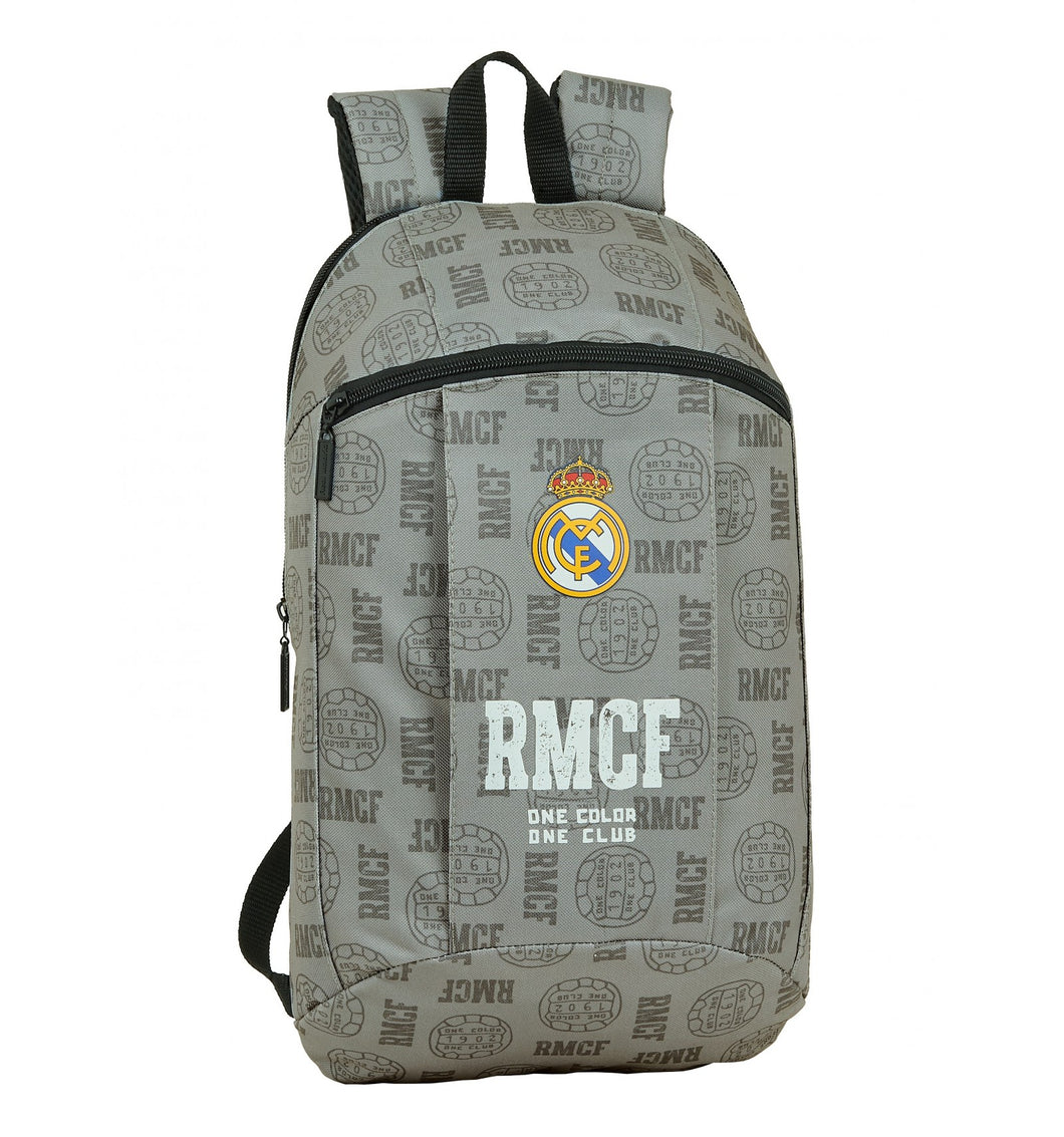 REAL MADRID gray MINI backpack