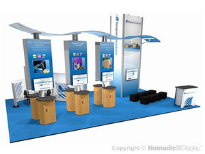30' DesignLine Custom Island Exhibit
