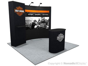 10' Instand Custom Portable Display
