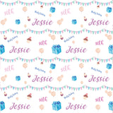 30th Birthday Bunting Personalised Wrapping Paper