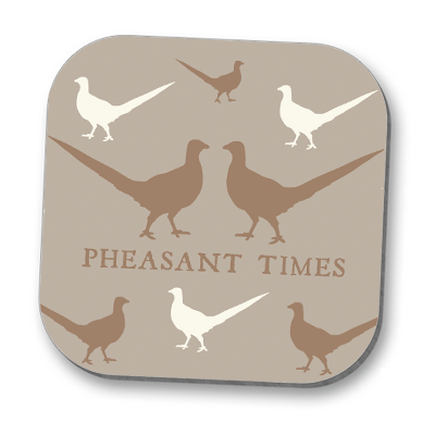 Pheasants Coaster
