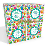 Owls Personalised Birthday Wrapping Paper