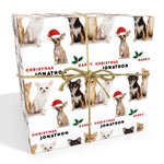 Chihuahua Dog Personalised Christmas Wrapping Paper