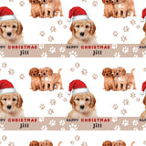 Labradoodle Dog Personalised Christmas Wrapping Paper