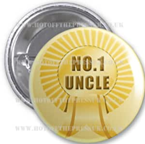 No 1 Badge - Uncle