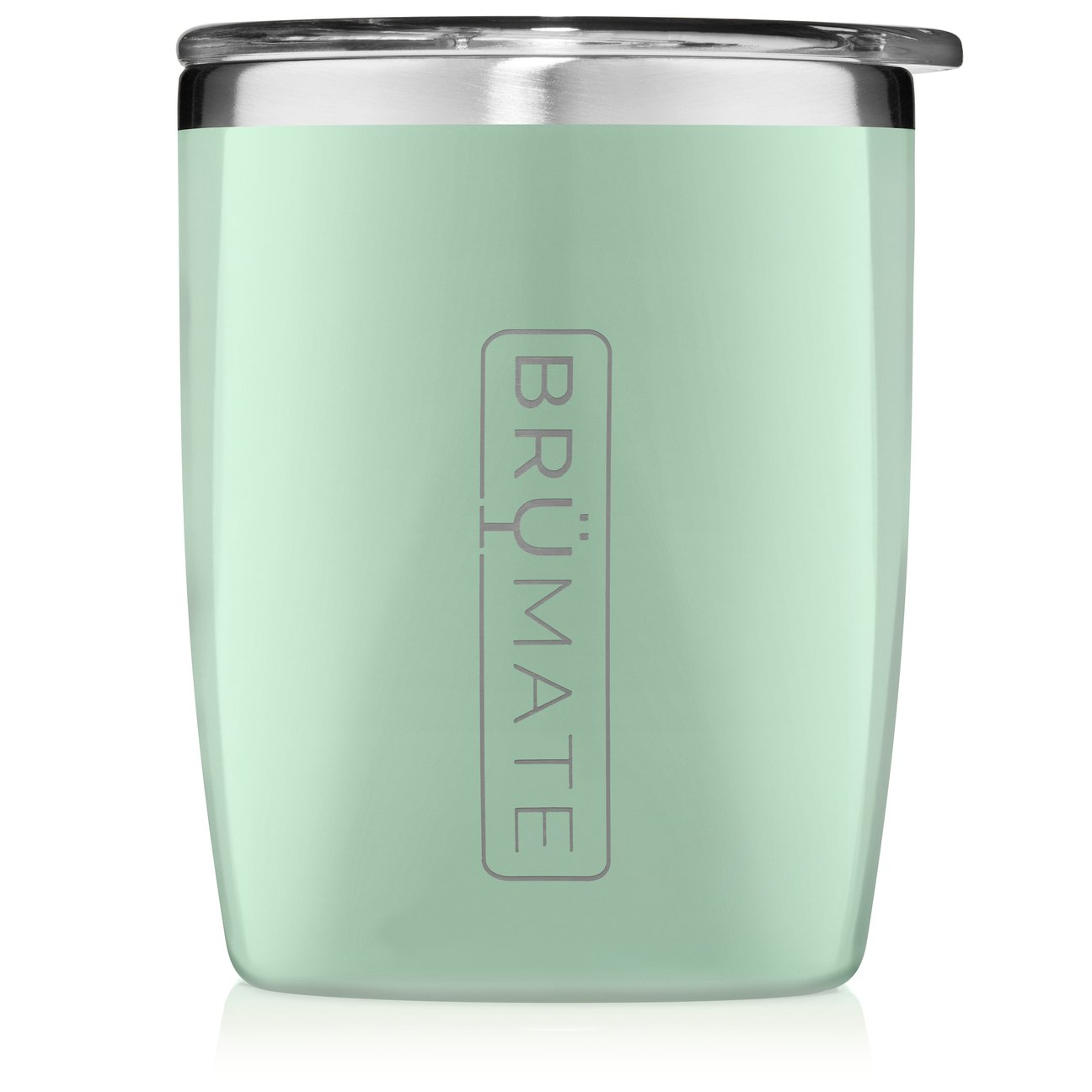 Brumate Rocks Tumbler 12oz Light Olive