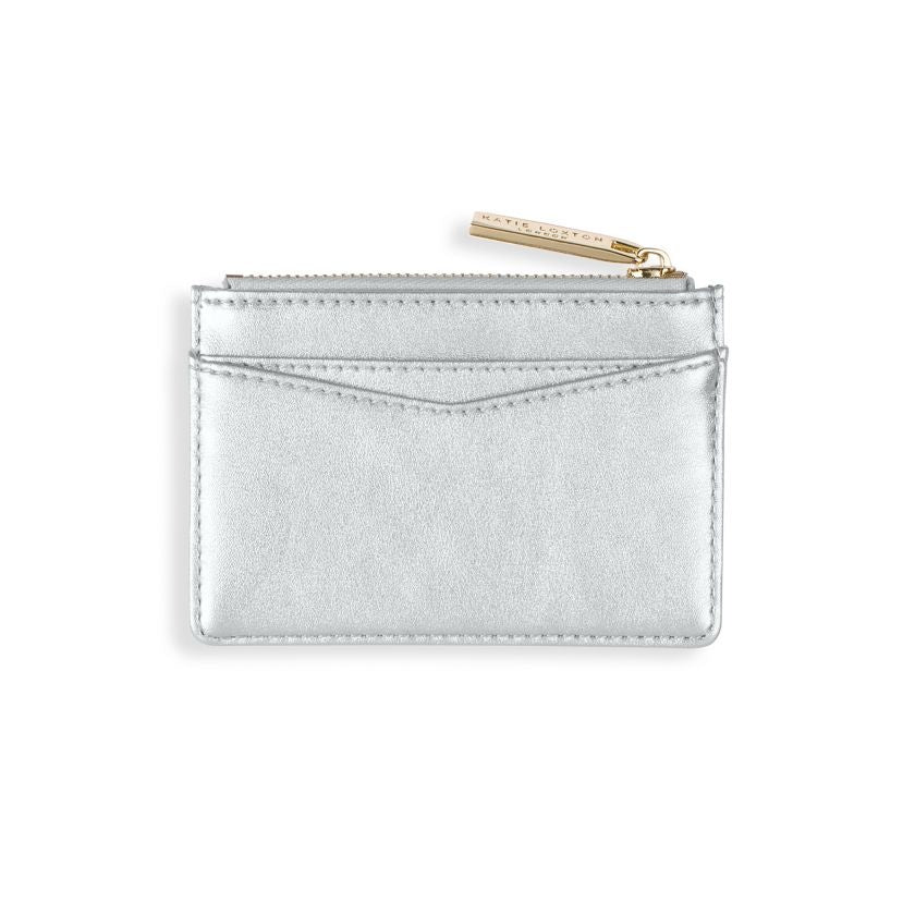 Alexa Card Holder  Metallic Silver