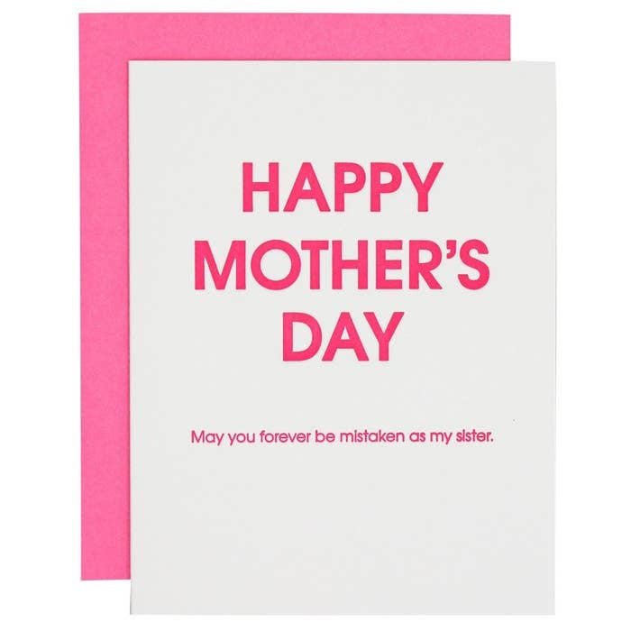 Happy Mother's Day Mistaken Card