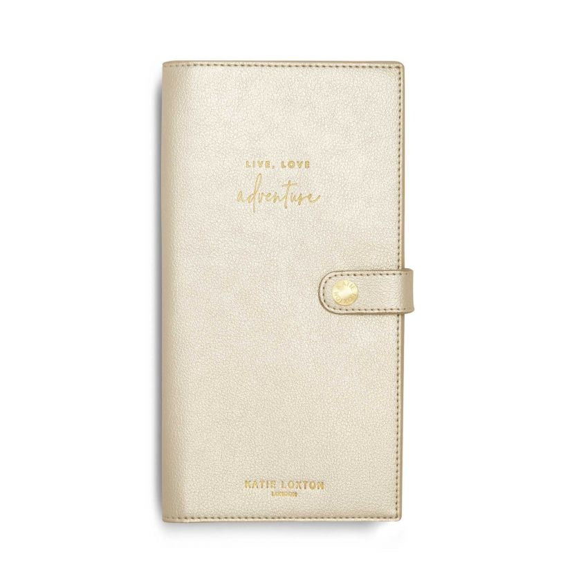 Travel Wallet Live Love Met Champagne