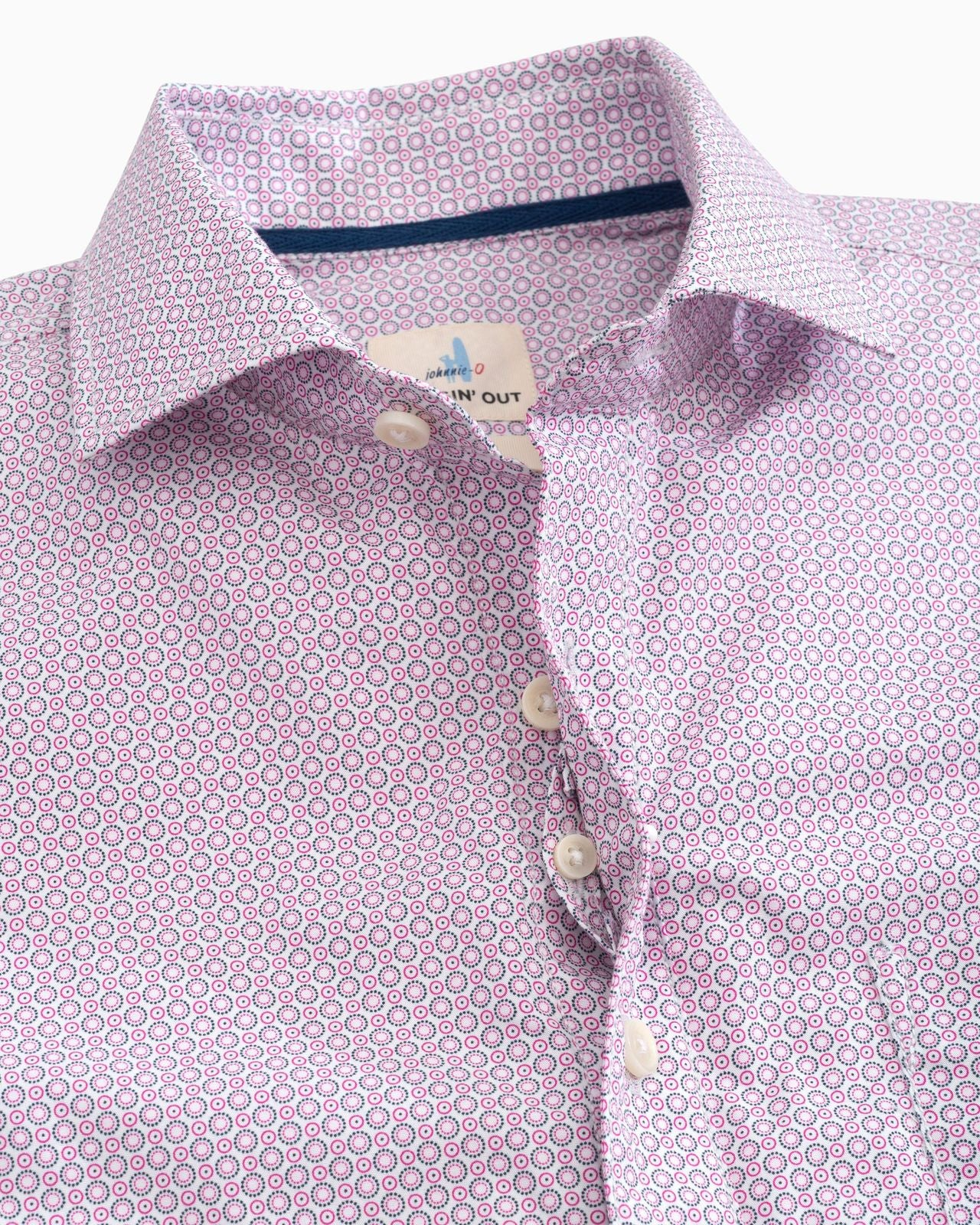 Reading  Printed Button Up