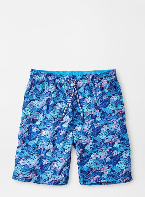 Flippers Up Swim Trunk