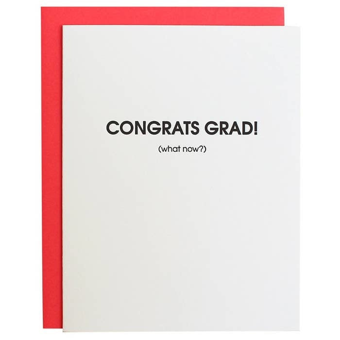 Congrats Grad, Now What? Card