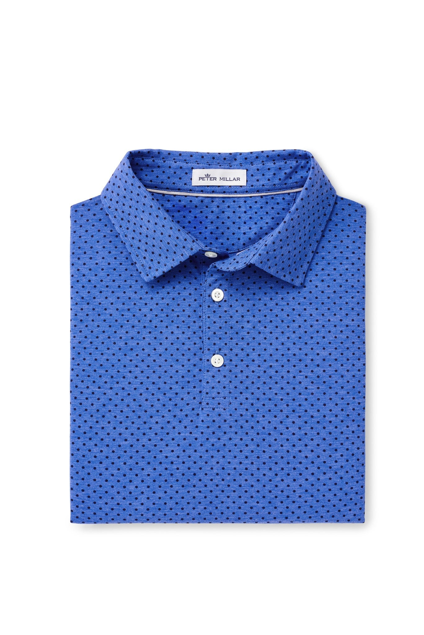 Crown Soft Printed Dot Polo