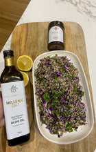 Load image into Gallery viewer, Hellenic Gift Oil and Honey with a fresh Salad