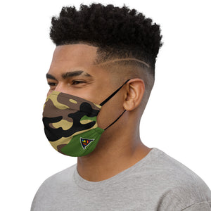 KAFFUL Army Camo Premium Face Mask by El Carna
