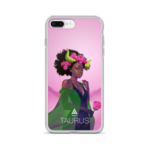 Kafful TAURUS Zodiac iPhone Case by El Carna