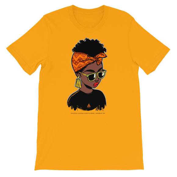 KAFFUL Born To Be Fabulous Short-Sleeve Unisex T-Shirt by El Carna