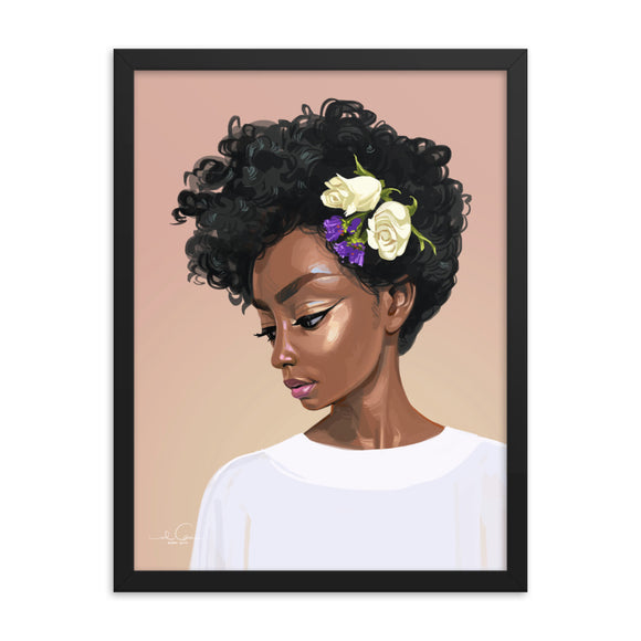 PURITY Framed poster by El Carna