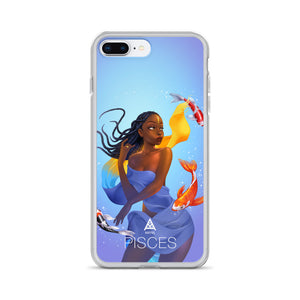 Kafful PISCES Zodiac iPhone Case by El Carna