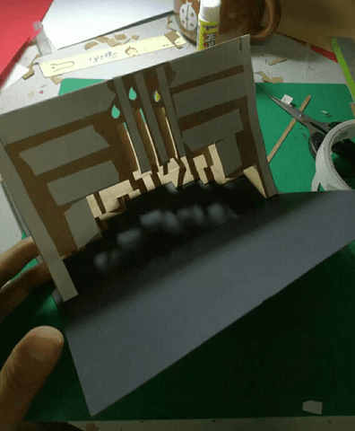paste pop up card