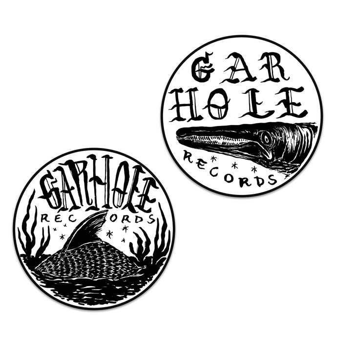 Gar Hole Badge Vinyl Stickers