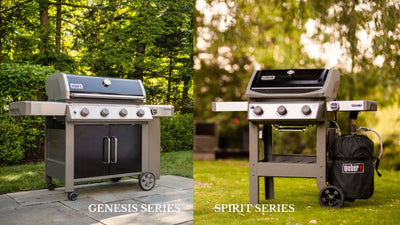 What's the difference between the Weber Spirit and Weber Genesis BBQ's