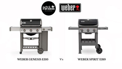 What's the difference between Weber Genesis E310 and Spirit E310