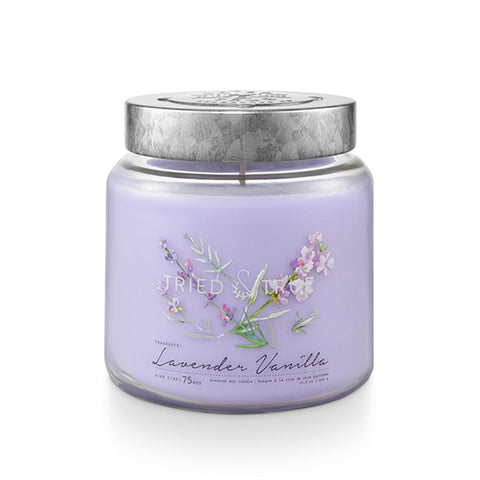Tried & True Medium Jar Candle: Lavender Vanilla