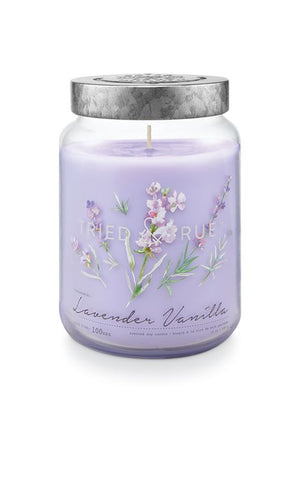 Tried & True Large Jar Candle: Lavender Vanilla