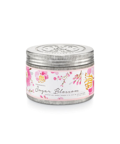 Tried & True Small Tin Candle: Sugar Blossom