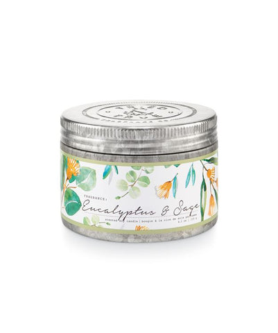 Tried & True Small Tin Candle: Eucalyptus Sage