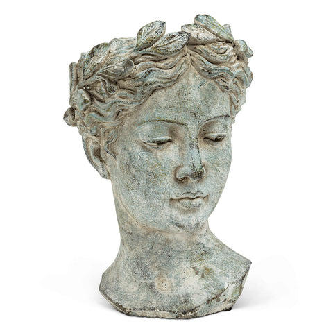 Goddess Head Planter LARGE