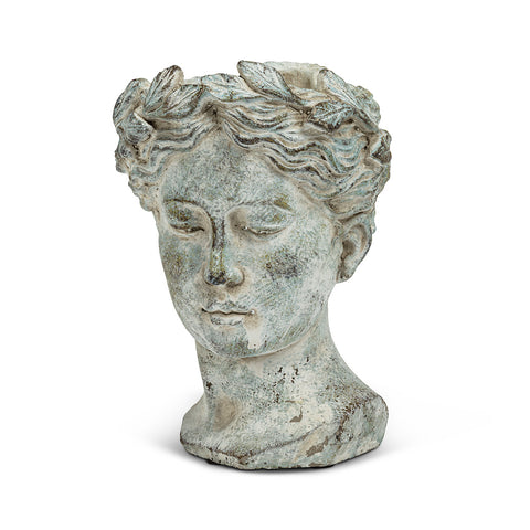 Goddess Head Planter MEDIUM